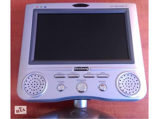 продам Телевизор переносной, автомобильный, Elenberg, 7 дюймов бу в Кривом Роге