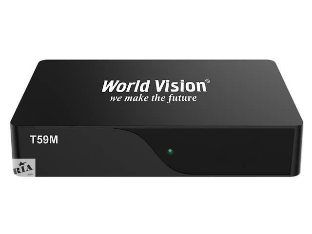 купить бу Тюнер (ресивер) T59M DVB-T/T2 World Vision в Ивано-Франковске