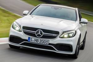 Новые Бамперы передние Mercedes C 63 AMG