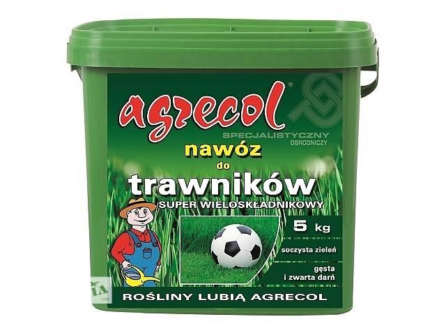купить бу Удобрение Agrecol для газонов SUPER многокомпонентное 9 кг в Днепре (Днепропетровск)