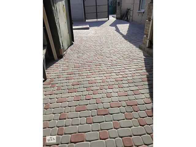 купить бу Укладка тротуарной плитки   в Украине