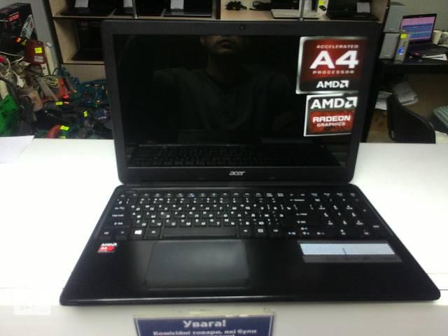купить бу ультрабук Acer 15.6 a4 4 ядра, 4 озу 500 жесткий диск, в идеале в Виннице