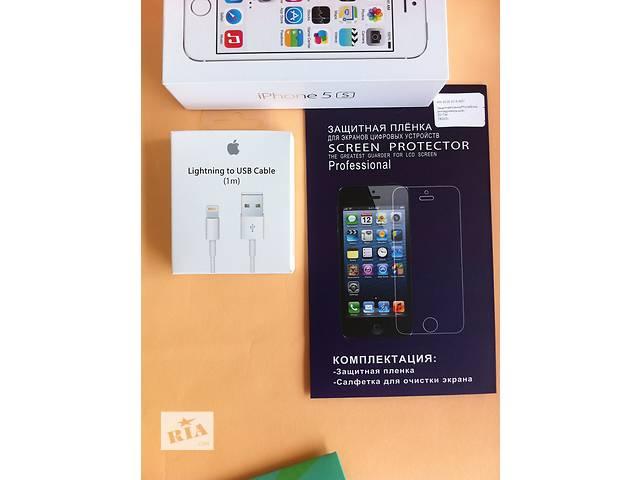бу usb lightning кабель iPhone 5 5s 6 6s лайтинг зарядка айфон + ПОДАРОК! в Днепре (Днепропетровск)