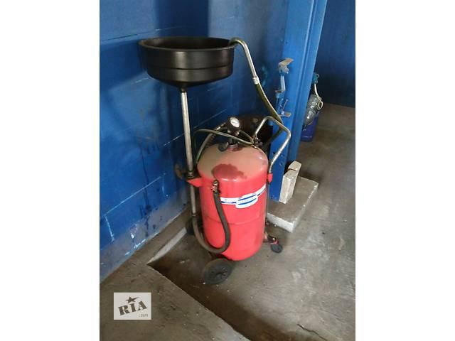 продам Установка для зливу і вакуумного відкачування бу в Ивано-Франковске