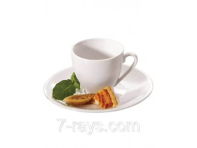 купить бу Чашка 110 мл. фарфоровая, белая espresso Riwall в Дубно (Ровенской обл.)