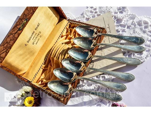 Восхитительные чайные ложки,набор,6 шт! WORMS! Germany!- объявление о продаже  в Дубно
