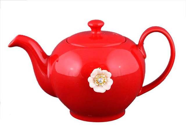 продам Заварочный чайник красный на 600мл Е-декор 470-152 бу в Одессе