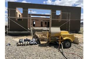 Известково цементная машинная штукатурка стен