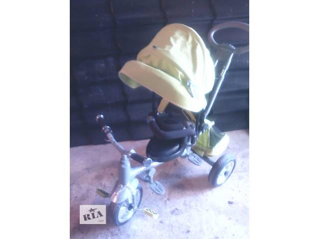 бу Велосипед детский маэ 4положення.Был в користуванни 4 мисяци в Ковеле