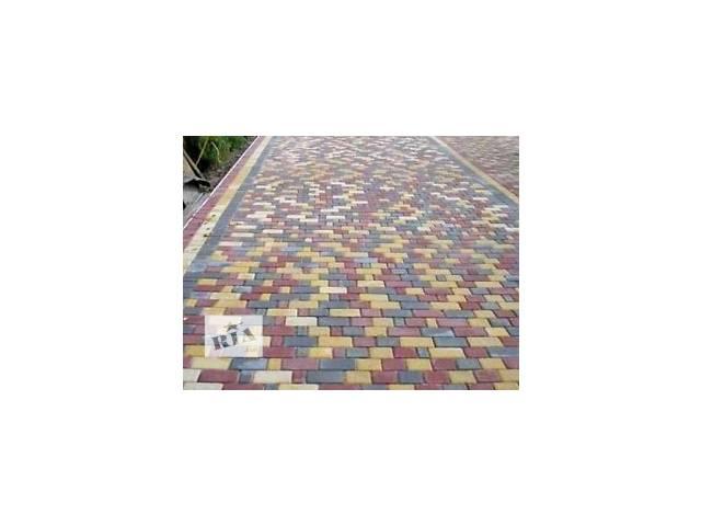 Укладка тротуарной плитки с вібромашиною- объявление о продаже  в Хмельницком
