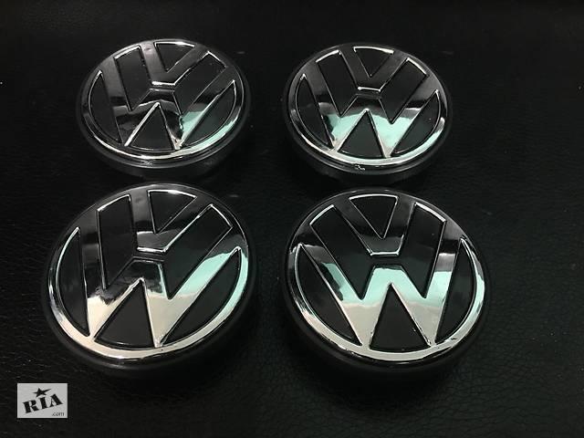 бу Volkswagen T5 рестайлинг 2010-2015 гг. Колпачки в титановые диски (4 шт) Оригинал, 56 мм (внутр.) в Черновцах