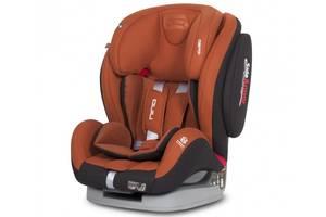 Детское автокресло9-36 кгс положением для снагруппа 1-2-3  EasyGo Nino copper оранжевое (8396)