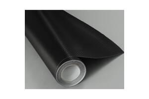 Карбонова плівка 3D 127*30cm Чорний/Сірий