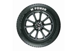 M POWER стикеры на шины