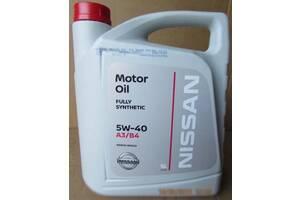 Масло моторное оригинальное Nissan Motor Oil 5w-40 juke qashqai leaf