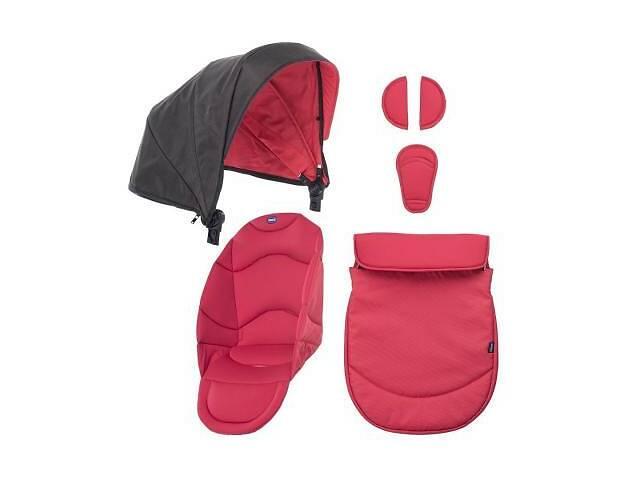 купить бу Набор текстиля для коляски Chicco Urban красный (79168.99) в Харькове