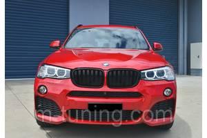 Решетка радиатора ноздри BMW X3 F25 X4 F26 стиль M (4 варианта)