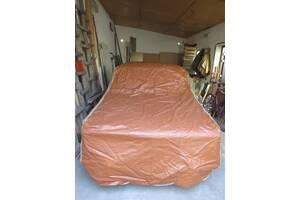Кожано-брезентовый тент для легкового авто советского производства