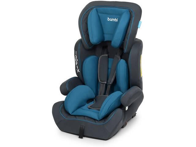 продам Универсальное автокресло с бустером для ребенка Bambi M 4250 с системой ISOFIX (9-36 кг) Синий бу в Одессе