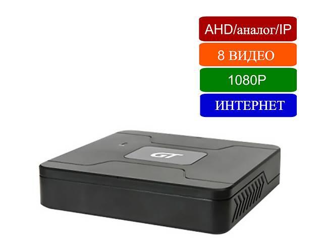 Видеорегистратор 8-канальный 2MP 1080p трибрид: АНD аналог IP- объявление о продаже  в Киеве