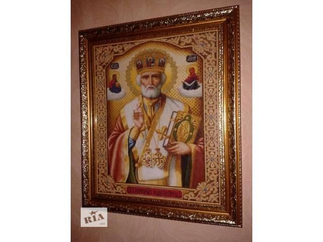 cf6305408391a8 Вишита картина. Ікона св. Микола - Товари мистецтва в Києві на RIA.com