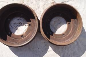 Применяемый тормозной барабан для Ford Transit 2001-2006рв на форд транзит 15 база цена 700гр один небольшой выработка