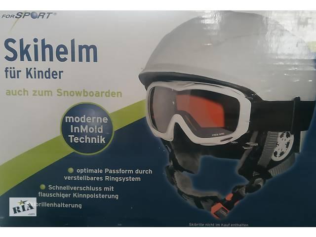 продам Детский лыжный и сноубордический шлем. бу в Харькове