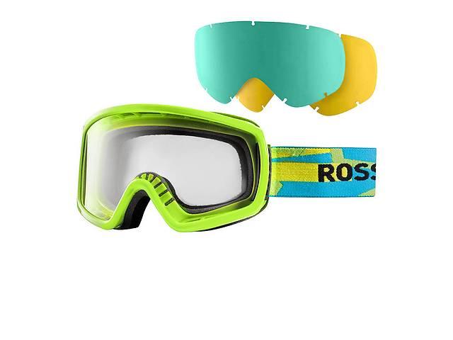 купить бу Маска Rossignol Radical+2Lens  green-blue в Львове