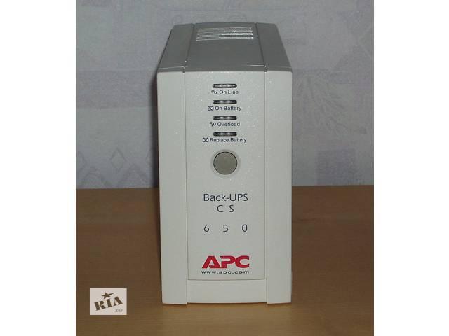 продам ИБП APC Back-UPS CS 650VA (BK650EI) бу в Киеве