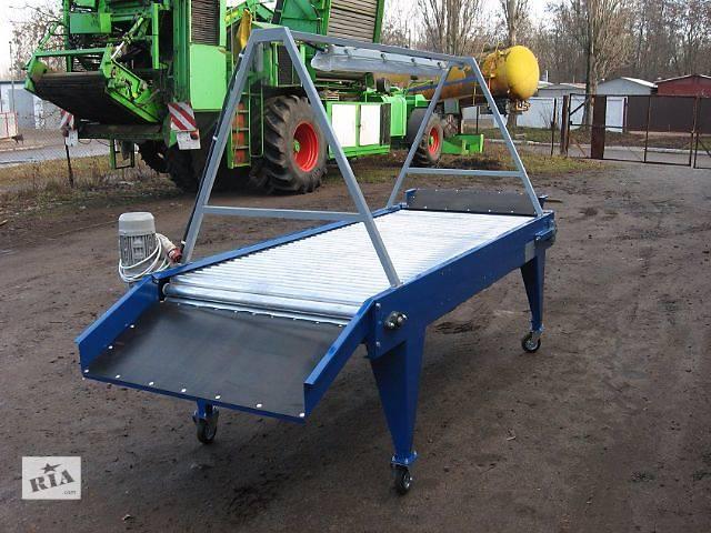 купить бу Инспекционный роликовый стол для сортировки картофеля, лука и корнеплодов. в Ровно