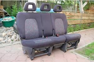 Заднее тройное сидение трансформер 2+1 для Fiat Doblo