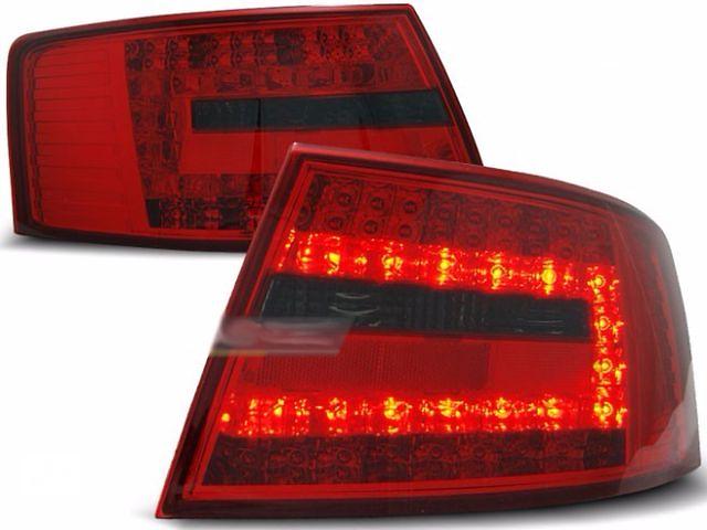 бу Задние диодные тюнинг фонари Audi A6 C6 (LDAU74) Ауди А6 С6 в Луцке