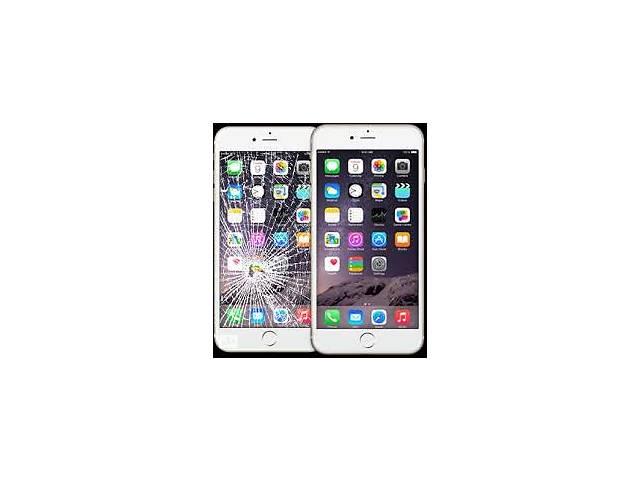купить бу Замена стекла iPhone 6+, 6S+ переклейка реставрация ремонт дисплея экрана айфон в Харькове
