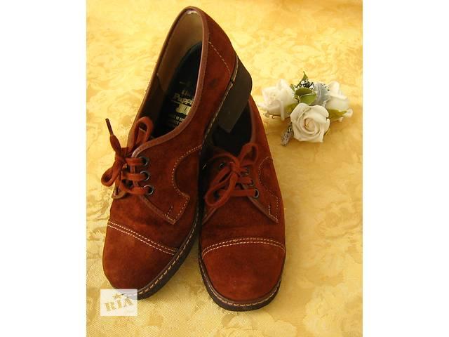 купить бу Замшевые туфли 36 размер в Сумах