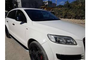 Пороги Audi Q7