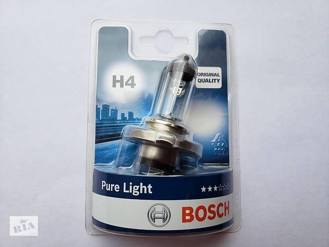 Авто лампа Bosch Pure Light H4 12V 55W/60W P43t- объявление о продаже  в Киеве