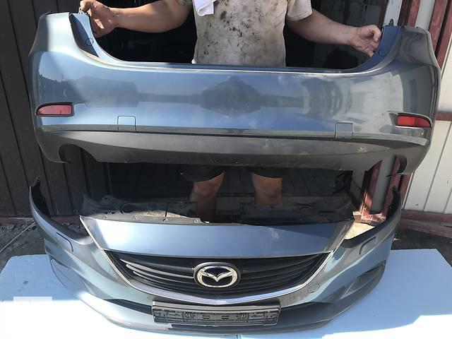 Б/у бампер задний для Mazda 6 2012-2018 комплектный идальный- объявление о продаже  в Киеве