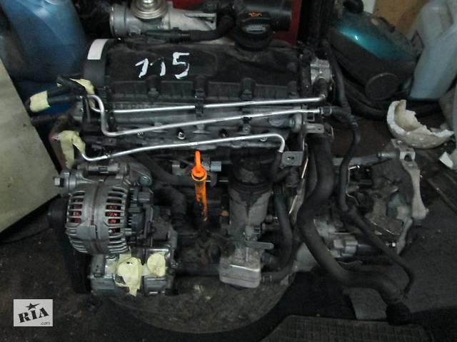 купить бу Б / у блок двигателя для Volkswagen Caddy 1. 9 TDI в Костополе