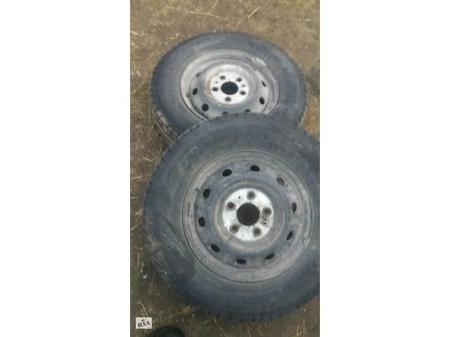 купить бу Б/у диск с шиной для Fiat Ducato jumper boxer r16 в Рожнятове