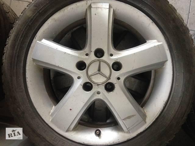 продам Б/у диск с шиной для Mercedes B 180 r 16 бу в Чорткове