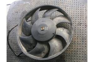 Б/у моторчик вентилятора радиатора для Audi 100 С-4