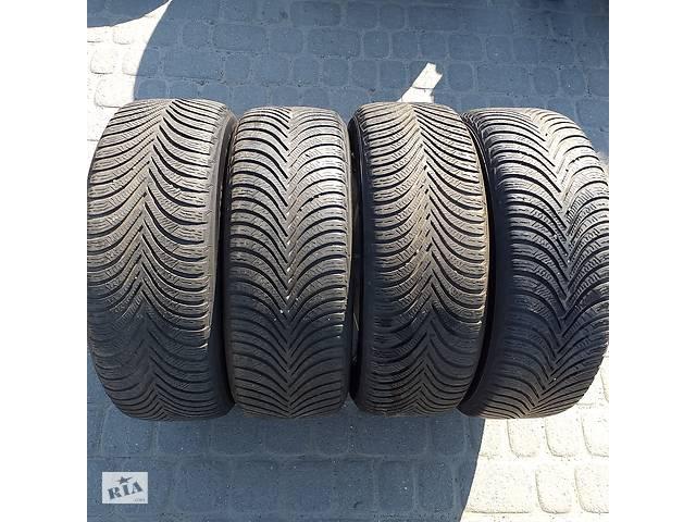 бу Б/у шини 205/55/16 Michelin Alpin A5  4x5 mm протектор резина зимова в Львове