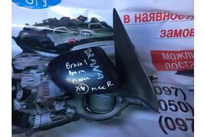 Б/у зеркало боковое правое механика для Fiat Brava Bravo Marea (34)