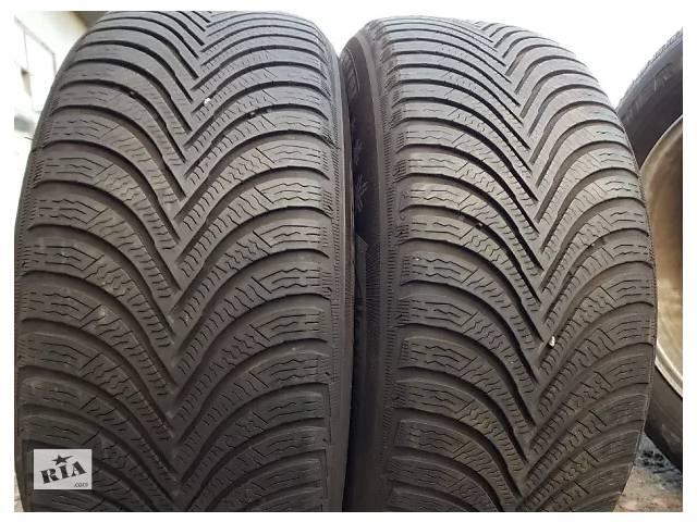 бу Б/у Зимові шини Michelin Alpin A5 6mm протектор резина покришки скати в Львове
