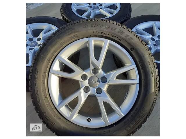 купить бу Б/в Диски Audi R17 5x112 A4 A6 Skoda Octavia Superb VW Passat Golf Jetta в Львове