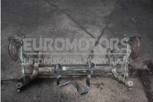 Балка задняя в сборе под диски с ABS Citroen Berlingo 1996-2008
