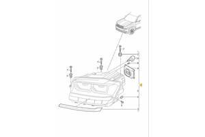Блок розжига б/у для  Volkswagen Teramont 2018-