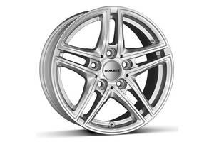 Borbet XR R16 W6.5 PCD5x112 ET22 DIA66.6 Brilliant Silver