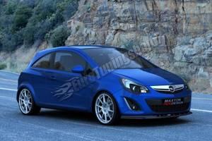 Новые Накладки бампера Opel Corsa
