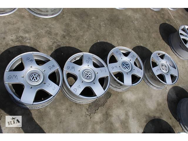 купить бу диск R15 Volkswagen в Львове